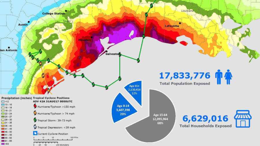 UH Pacific Disaster Center Tools Help Hard Hit Southeast Texas