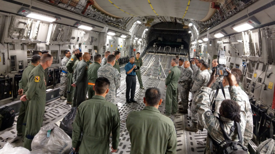 Hawaii Air National Guard Heads To Texas On Harvey Relief Mission
