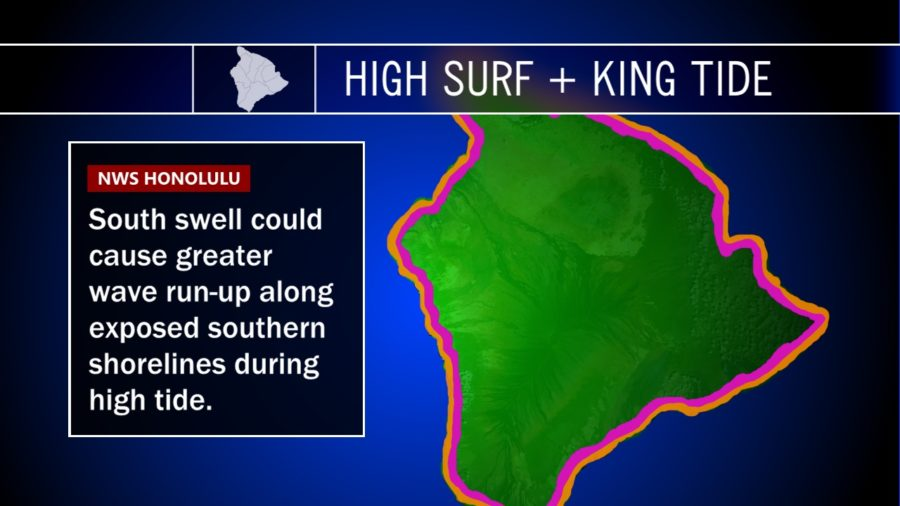 Forecasters: High Surf During King Tide Event Concerning