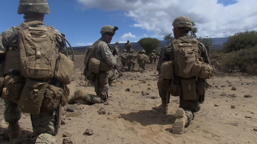 VIDEO: As North Korea – U.S. Tensions Rise, Marines Train On Hawaii