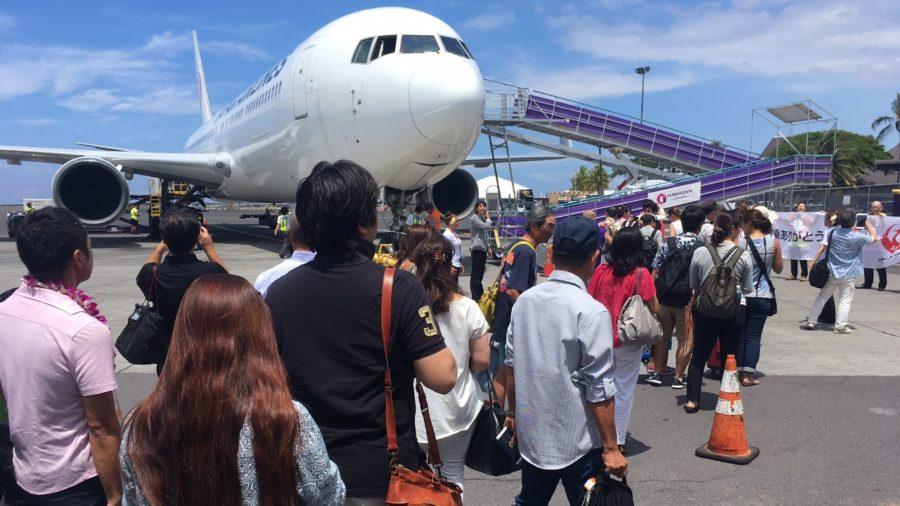 VIDEO: Japan Airlines Resumes Direct Flights To Kona