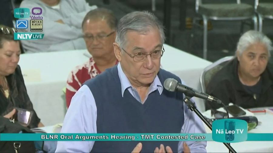 VIDEO: Thirty Meter Telescope Final Argument In TMT Case