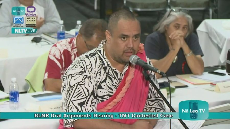 VIDEO: Brannon Kamahana Kealoha Final Argument In TMT Case
