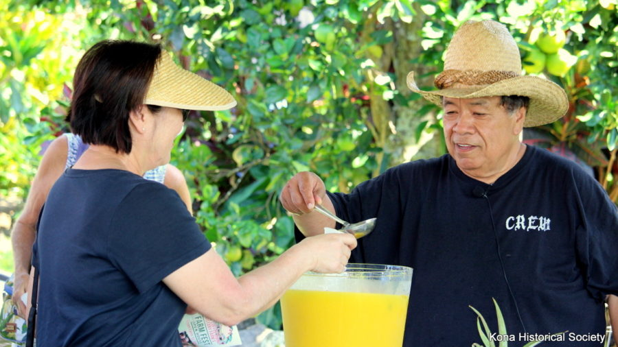 Kona Farm Fest Attracts Hundreds