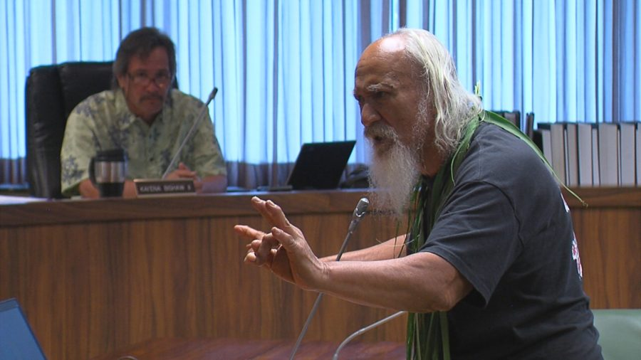 VIDEO: Testifiers Speak Out On Kawa At PONC Meeting