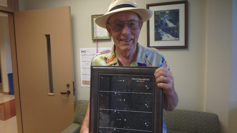 "Asteroid Named After County's ""Dark Skies"" Traffic Chief"