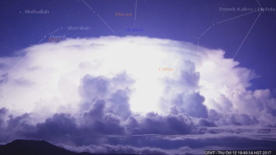 VIDEO: Cloud Cam Catches Lightning Storm Over Hawaii