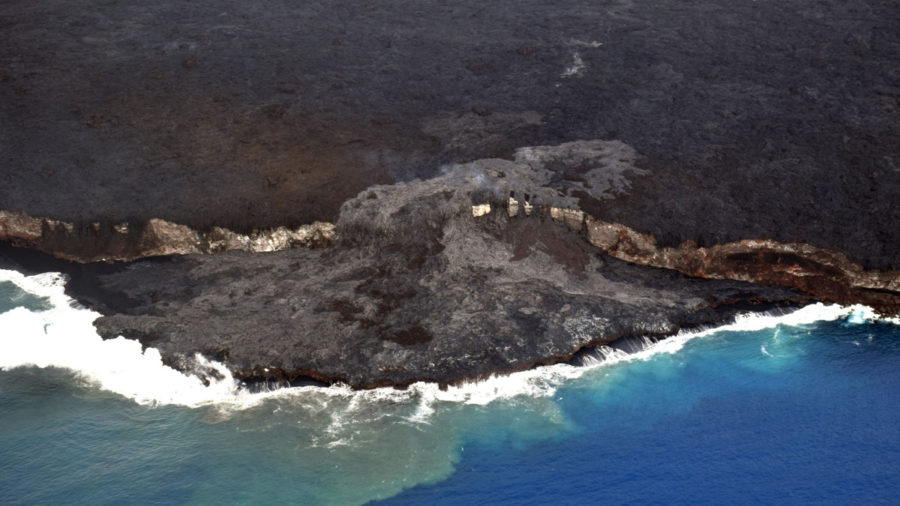 Lava Update: USGS Reports Changes To Ocean Entry Delta