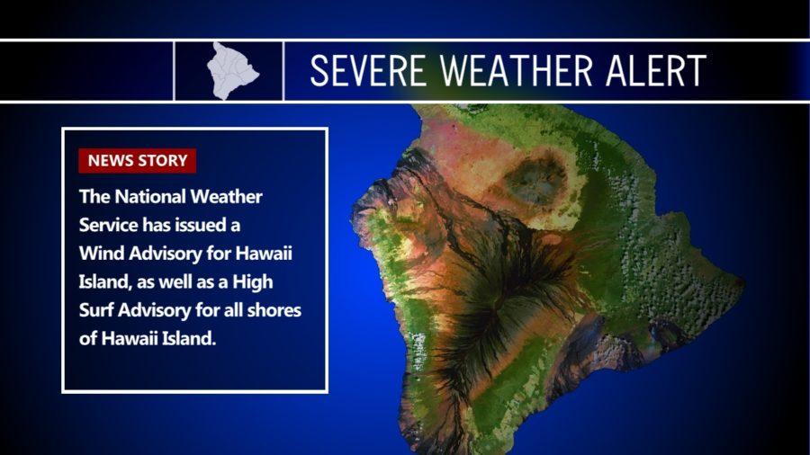 Civil Defense Alert: High Winds, High Surf Hit Hawaii