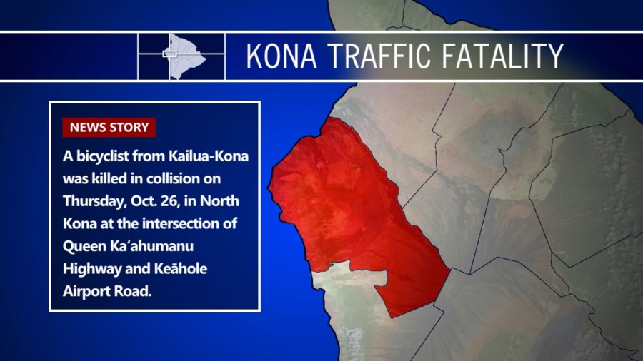Bicyclist Killed In Kona Collision Identified By Police