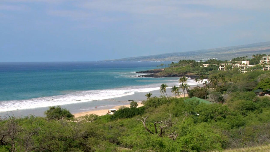 Year-Long Improvement Project Underway At Hapuna Beach