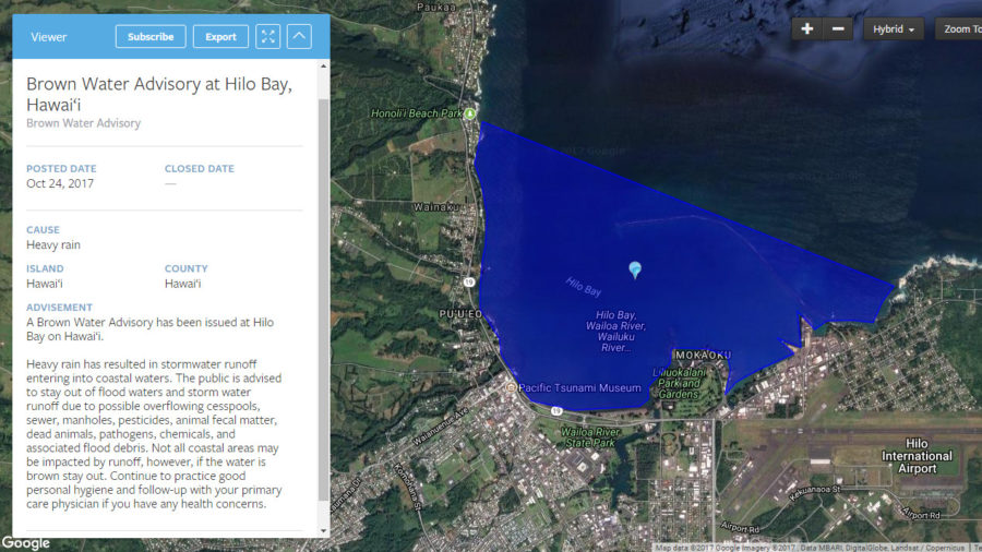 Hawaii Unveils New Beach Water Quality Monitoring Website