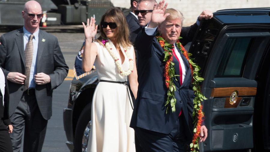 VIDEO: President Trump Visits Hawaii
