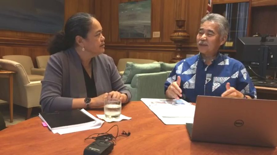 VIDEO: Governor Ige Live Chats With DHHL Chair