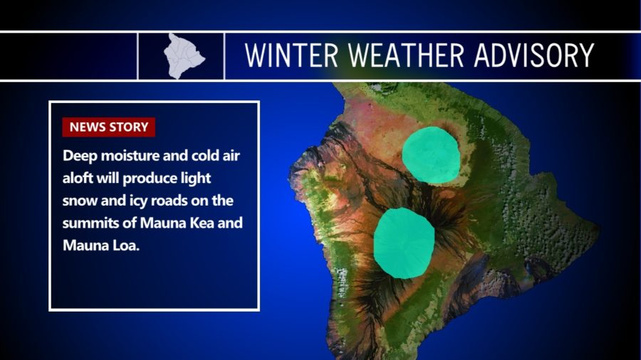 High Surf Advisory Over, Brief Winter Weather Advisory