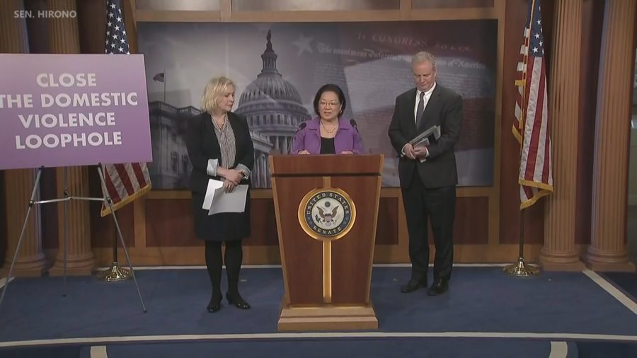 VIDEO: Hirono Bill Closes Military Loophole On Firearm Purchases