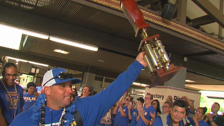 VIDEO: Hilo Celebrates Vikings, Hawaii State Football Champs