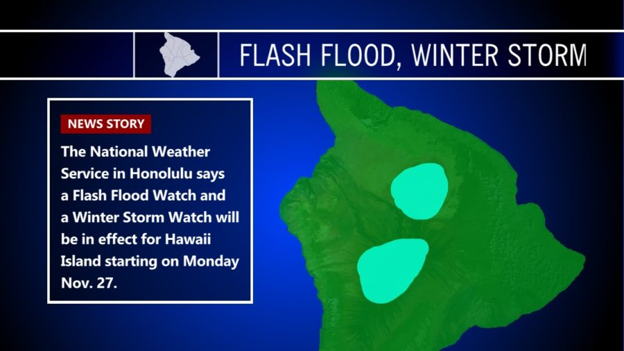 Wet Weather Coming: Flash Flood, Winter Storm Watch Monday