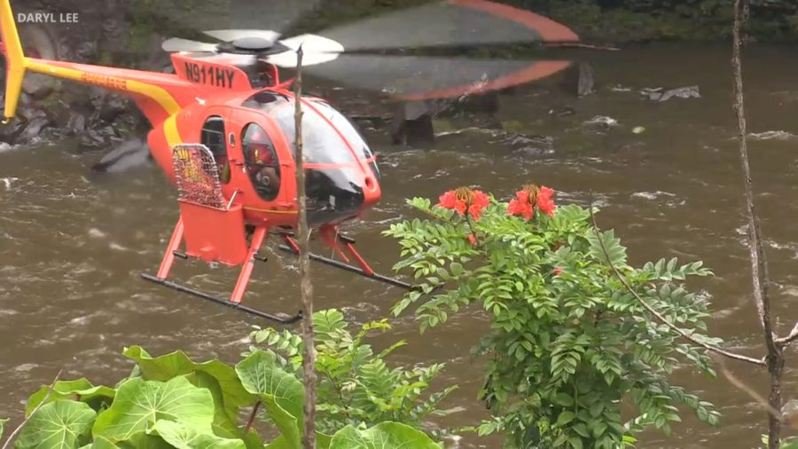 VIDEO: Rainbow Falls Rescue Search Enters Second Day