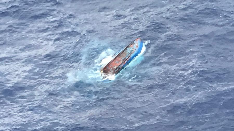 Six Fisherman Rescued Southeast Of Hawaii Island