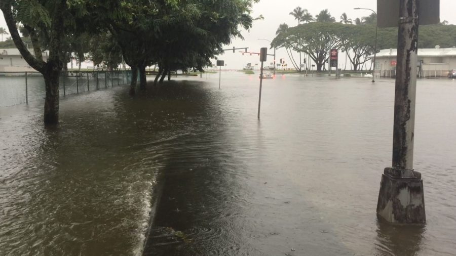 Flood Warning Prompts Shelter Opening, East Hawaii Parks Closed