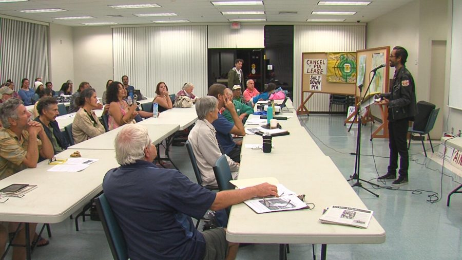 VIDEO: People's Hearing On Pohakuloa In Hilo