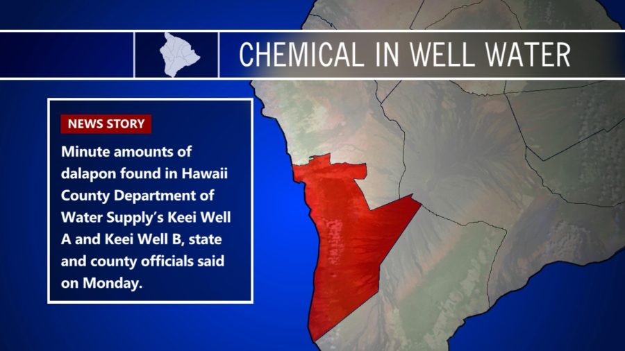 Trace Amounts Of Herbicide Found In Kona Well Water
