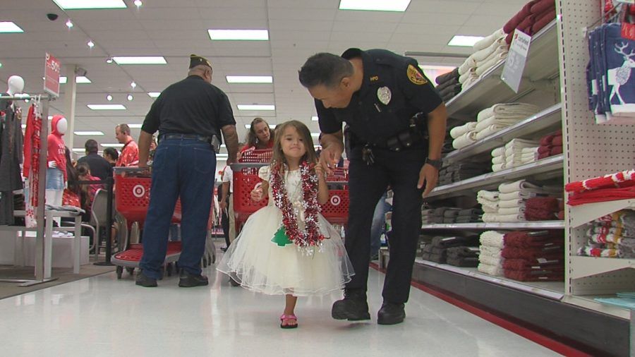 VIDEO: Shop With A Cop In Hilo Target Store