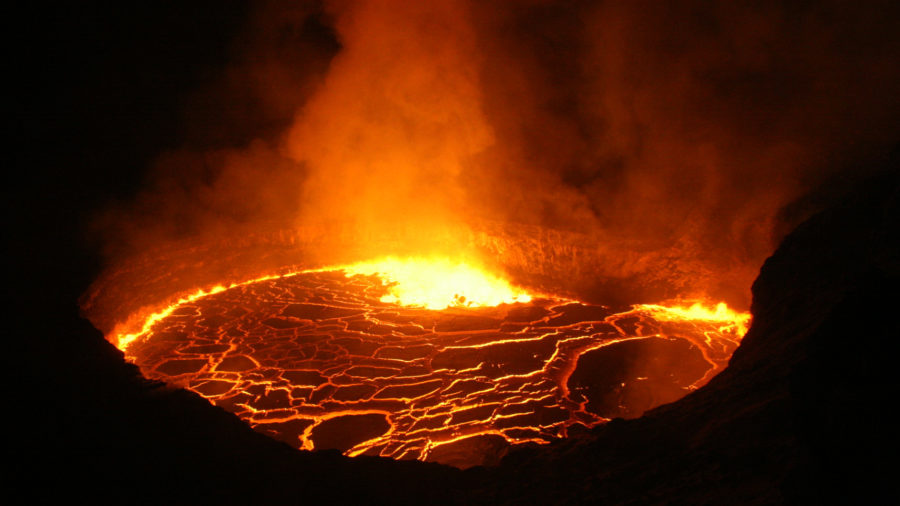 Collapse Slightly Alters Size, Geometry Of Kilauea Lava Lake
