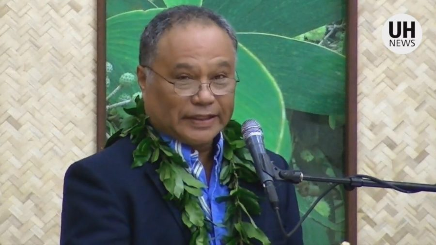VIDEO: Kalepa Baybayan Gives UH-Hilo Commencement Keynote