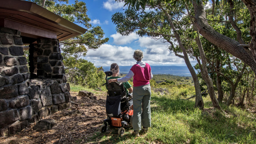 Wheelchair-Friendly Mauna Loa Lookout Opens