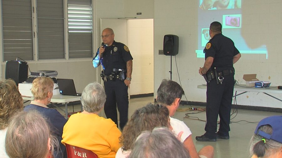 VIDEO: Puna Crime Meeting Held In Pahoa