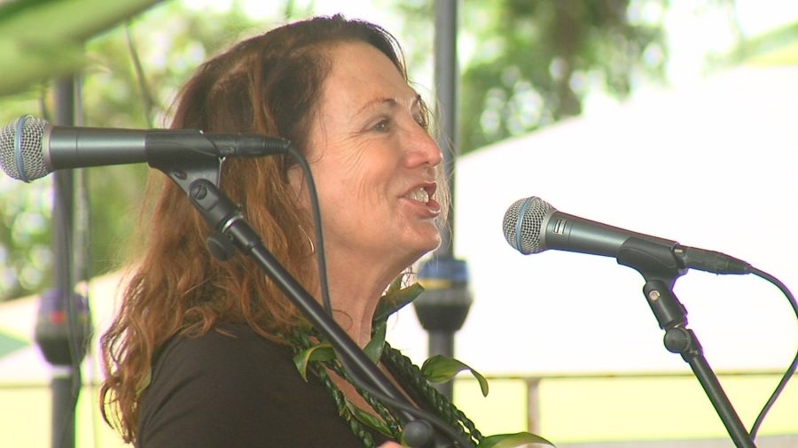 VIDEO: Teresa Shook, Spark Behind Women's Marches, Speaks In Hilo