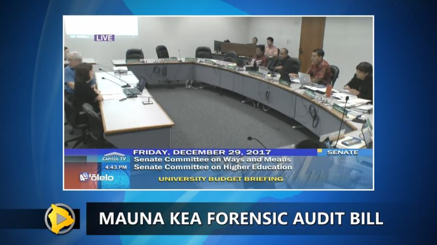VIDEO: Multiple Mauna Kea Related Bills Introduced