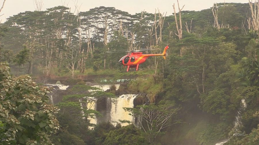 VIDEO: Search For Missing Woman Below Piihonua Falls
