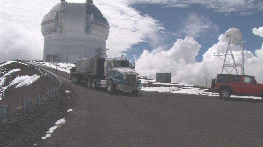 "VIDEO: ""Delivery Of The Decade"" For Canada-France-Hawaii Telescope"