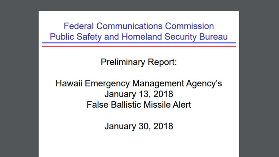 Hawaii's False Missile Alert Details Emerge: Threat Thought Real