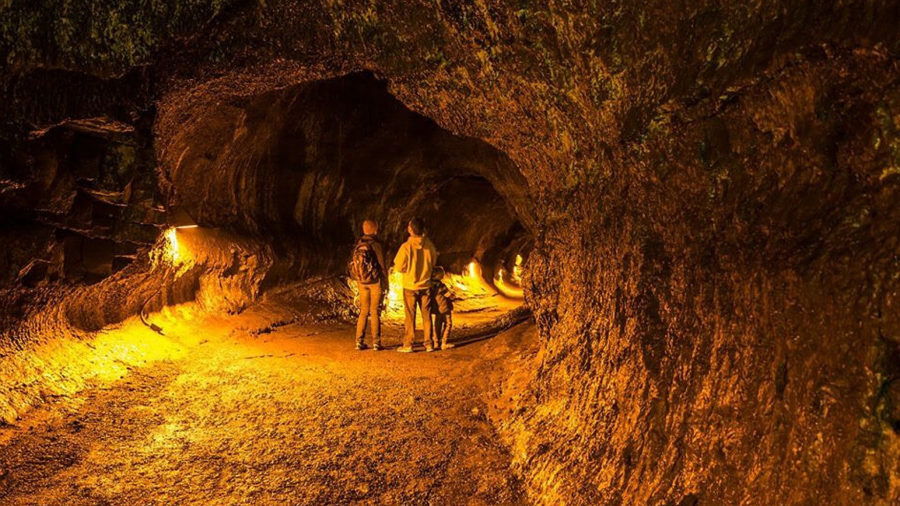 Hawaii Volcanoes Offers Lights Out Visits To Lava Tube
