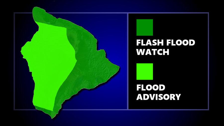 Flood Advisory For Hawaii Island As Watch Continues
