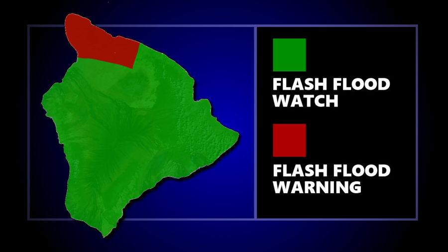 Thunderstorms Flood Kohala, Hamakua On Hawaii Island