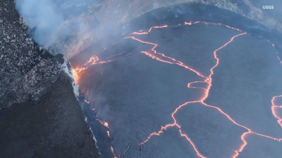 VIDEO: Kilauea Summit Eruption Reaches 10 Years