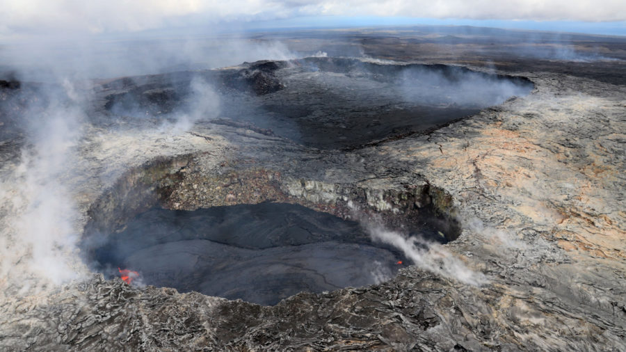 Lava Update: No Active Flows Below Pali As Puu Oo Inflates