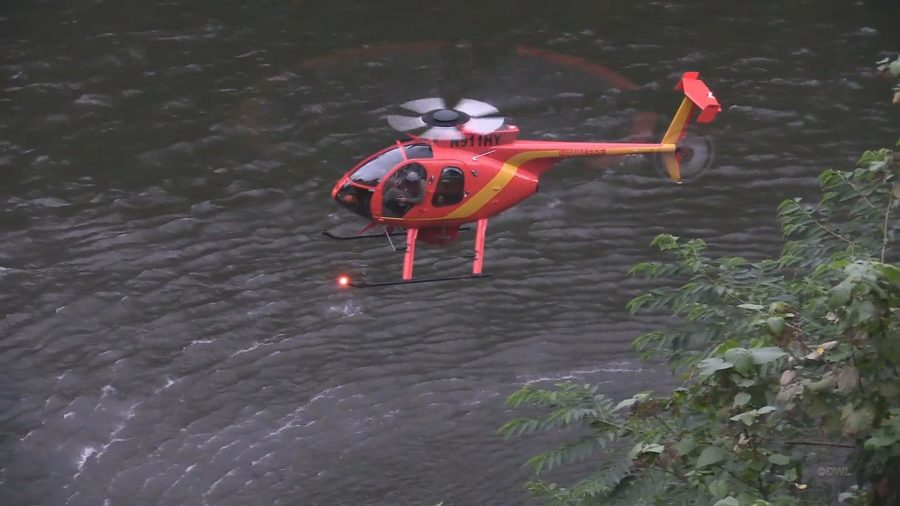VIDEO: Rainbow Falls Searched For Missing Swimmer