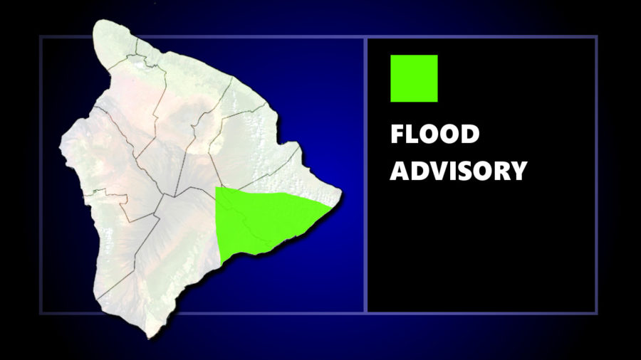 Flood Advisory Issued For Parts Of Hawaii Island