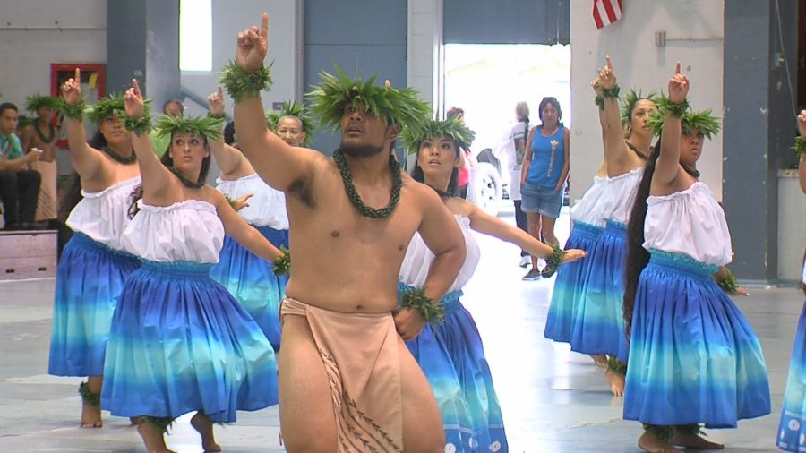 VIDEO: Hilo Hula Halau Thrills Merrie Monarch Crowd