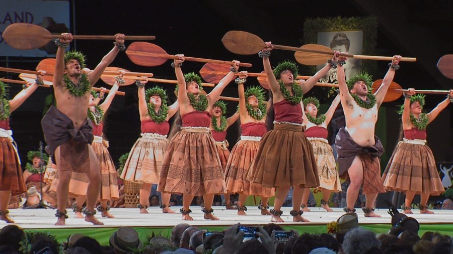 VIDEO: Merrie Monarch Hoike – Halau O Kekuhi Honors Hokulea