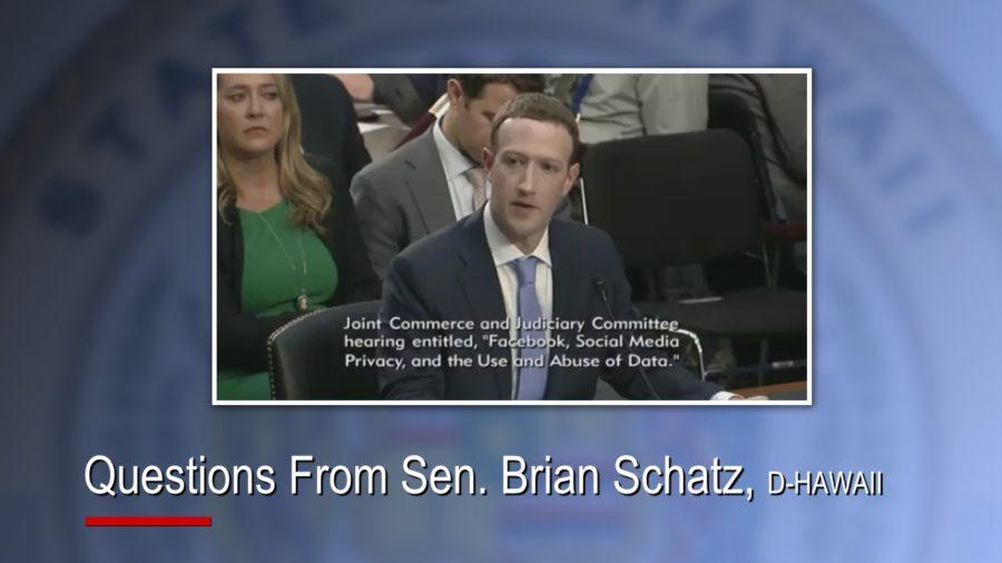 VIDEO: Hawaii Senators Question Facebook CEO Mark Zuckerberg