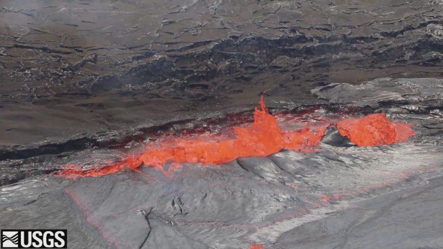 VIDEO: Lava Lake Overflows Continue, Cracks Seen On Pu'u O'o