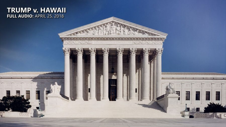 FULL AUDIO: U.S. Supreme Court Hears Trump v. Hawaii
