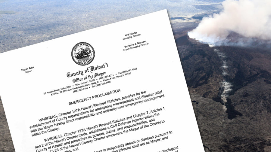 ERUPTION UPDATE: Emergency Proclamations Signed By Mayor, Governor